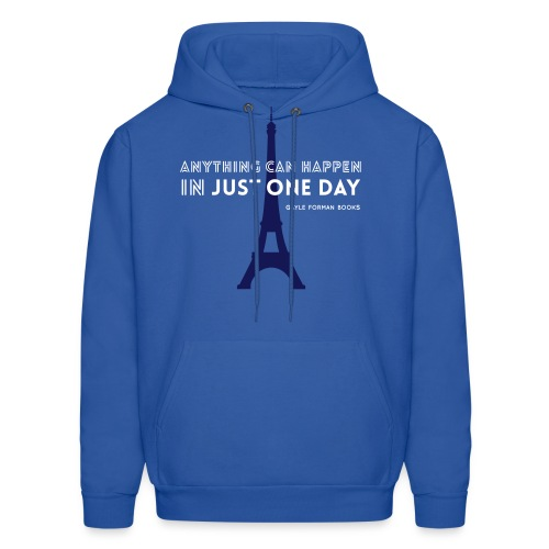 Just One Day Men's Hoodie - Men's Hoodie
