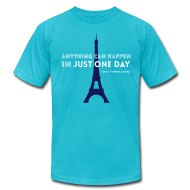 T-Shirts ~ Men's T-Shirt by American Apparel ~ Just One Day Men's T-Shirt