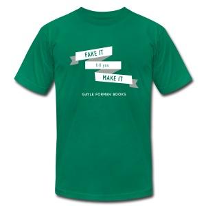 Fake It Men's T-Shirt - Men's Fine Jersey T-Shirt