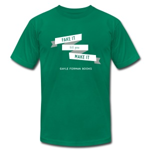 Fake It Men's T-Shirt - Men's T-Shirt by American Apparel
