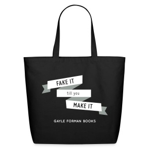 Fake It Tote Large - Eco-Friendly Cotton Tote