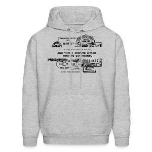 Lost and Found Men's Hoodie - Men's Hoodie
