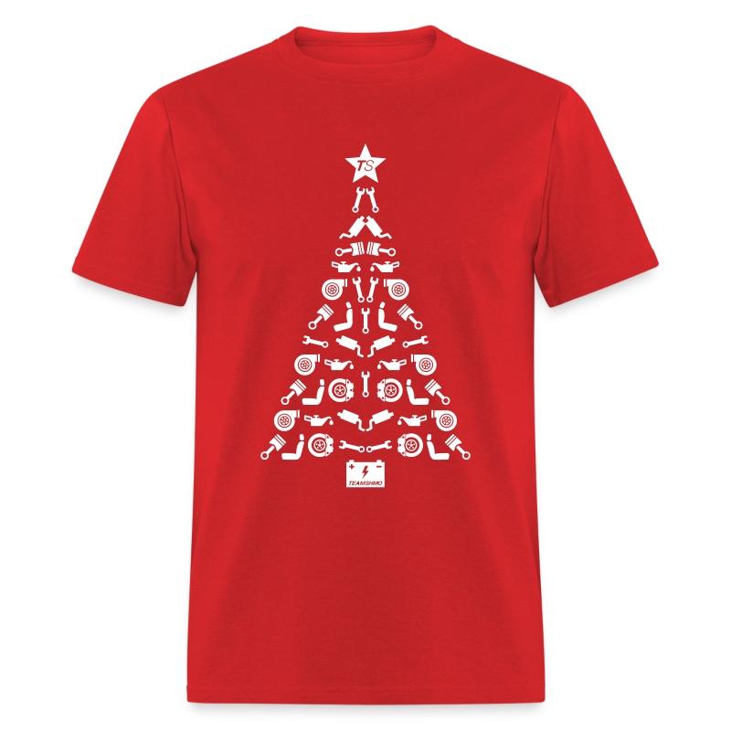 Burgundy Christmas Tree