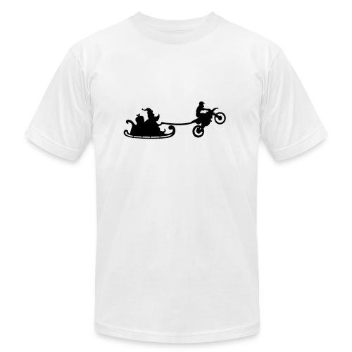 Santa is motorbiker - Men's Fine Jersey T-Shirt