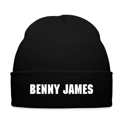 Knit Cap - Benny James - Knit Cap with Cuff Print