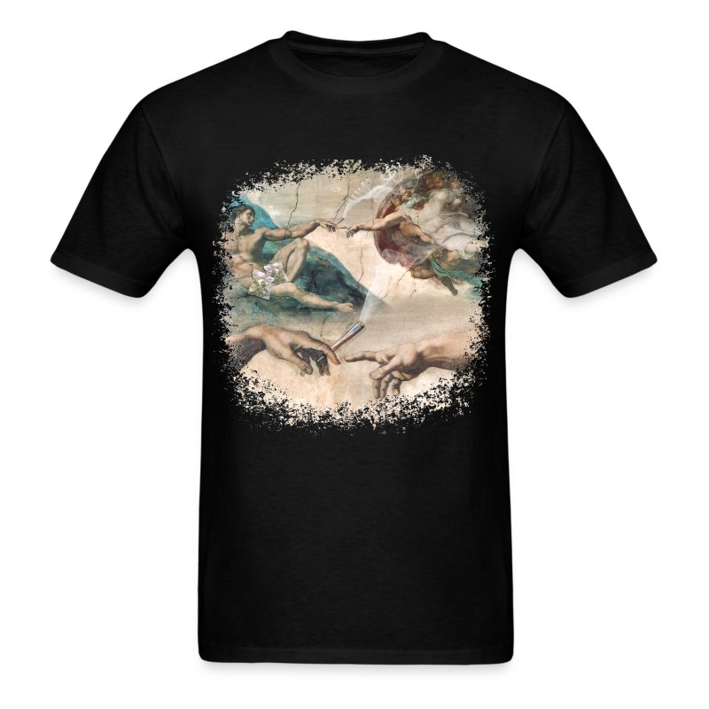 GodImHigh_TShirt_PRINT_Tr - Men's T-Shirt
