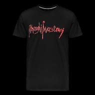 T-Shirts ~ Men's Premium T-Shirt ~ Men's New Crazy Red Logo Premium T-Shirt