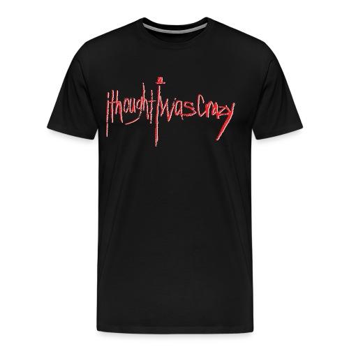 Men's New Crazy Red Logo Premium T-Shirt - Men's Premium T-Shirt