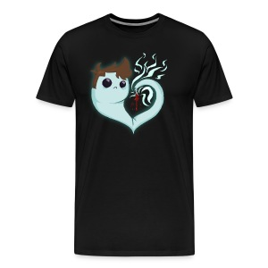 GhostHeart Men's Premium T-Shirt - Men's Premium T-Shirt