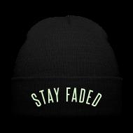 Sportswear ~ Knit Cap with Cuff Print ~ Stay Faded - Glow in the Dark