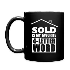 favorite-4-letter-word (right mug) - Full Color Mug