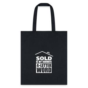 favorite-4-letter-word tote - Tote Bag