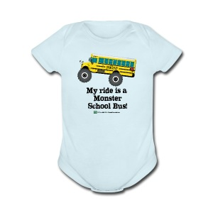 My Ride - Short Sleeve Baby Bodysuit