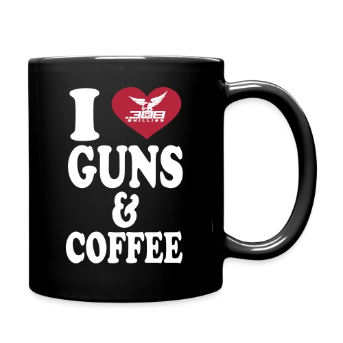I Love Guns & Coffee Mug - Full Color Mug