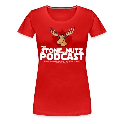 Canada Stone Nutz Women - Women's Premium T-Shirt