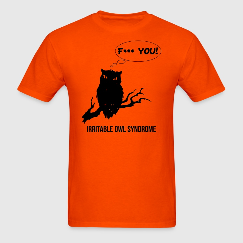 Irritable Owl Syndrome - Men's T-Shirt