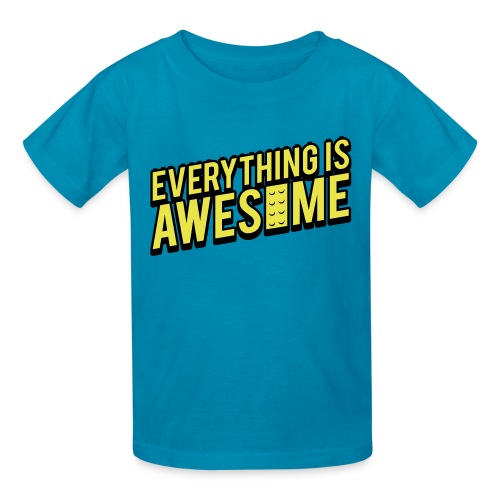 Everything is Awesome - Kids' T-Shirt