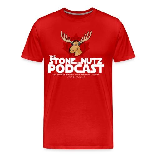 Canada Stone Nutz - Men's Premium T-Shirt