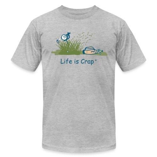 Rough Golf - Mens T-Shirt by American Apparel - Men's  Jersey T-Shirt