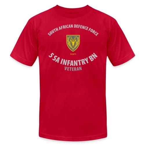 SADF 5 SA Infantry Battalion - Hi Quality - Men's Fine Jersey T-Shirt