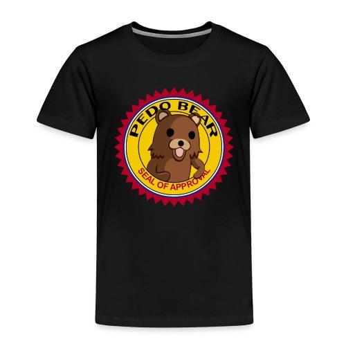 Pedobear seal of approval premium shirt - Toddler Premium T-Shirt