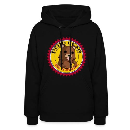 Pedobear seal of approval women hoodie - Women's Hoodie