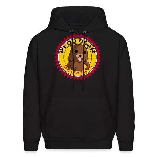 Pedobear seal of approval men hoodie - Men's Hoodie