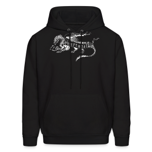 New Shur'tugal Logo (WHITE Ink - Unisex) - Men's Hoodie