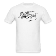T-Shirts ~ Men's T-Shirt ~ Newest Shur'tugal Logo (Black Ink - Unisex)