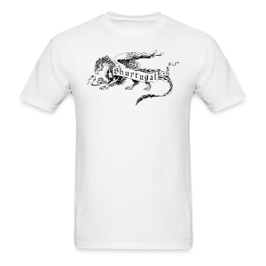 Newest Shur'tugal Logo (Black Ink - Unisex) - Men's T-Shirt