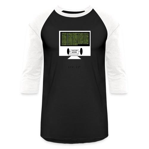 Binary Message to Fit Shamers - Baseball T-Shirt