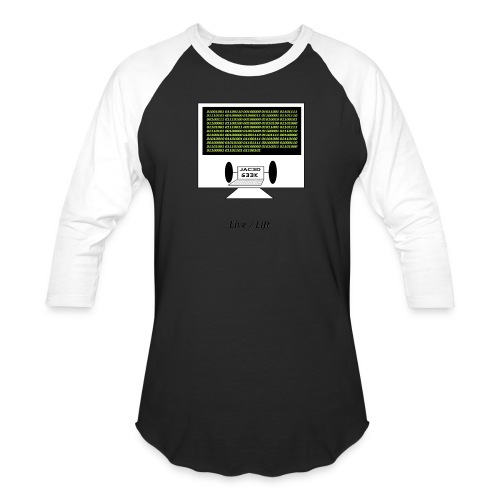 Binary Message to Fit Shamers - Baseball T-Shirt