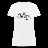 Women's T-Shirts ~ Women's T-Shirt ~ Newest Shur'tugal Logo (Black Ink - Women)