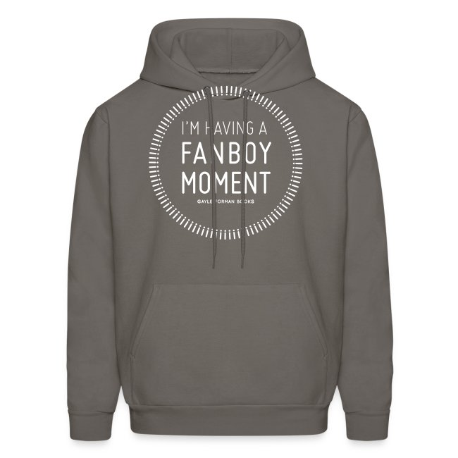 Fanboy Moment Circle Men's Hoodie