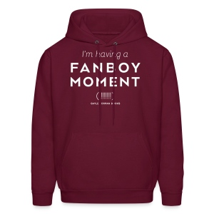 Fanboy Moment! Men's Hoodie - Men's Hoodie