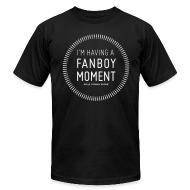 T-Shirts ~ Men's T-Shirt by American Apparel ~ Fanboy Moment Circle Men's T-Shirt
