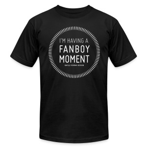 Fanboy Moment Circle Men's T-Shirt - Men's T-Shirt by American Apparel
