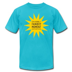 Fanboy Moment Star Men's T-Shirt - Men's T-Shirt by American Apparel