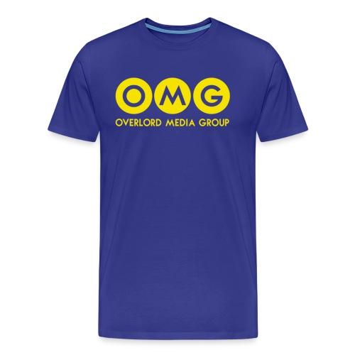 OMG Logo Men's Premium T-Shirt - Men's Premium T-Shirt