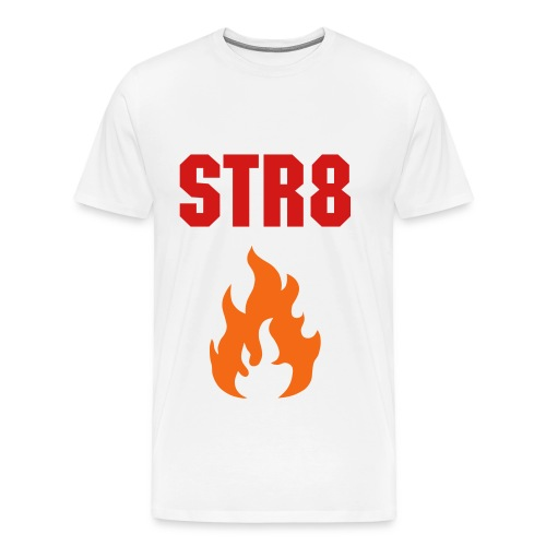STR8 HEAT TEE - Men's Premium T-Shirt