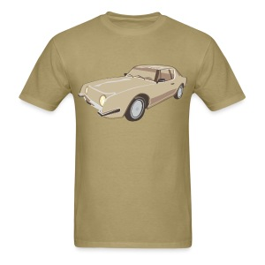 Gold Studebaker Avanti illustration - Men's T-Shirt