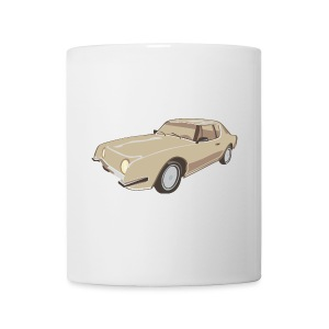 Gold Studebaker Avanti illustration - Coffee/Tea Mug