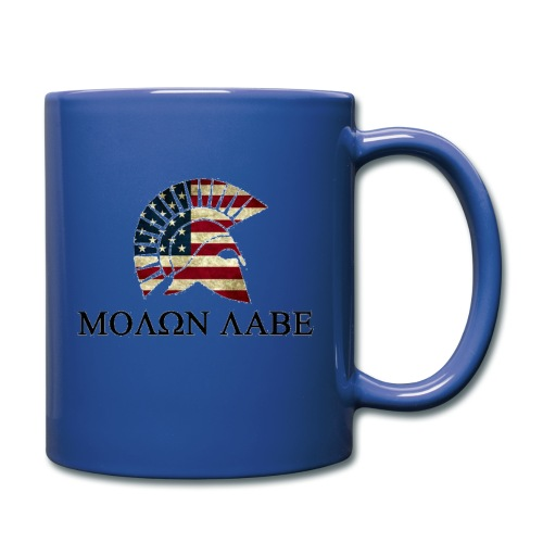 Molon Labe Coffee Mug - Full Color Mug