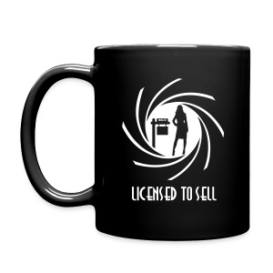 Licensed to Sell right mug - Full Color Mug