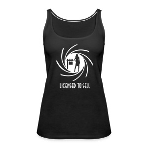 Licensed to Sell premium - Women's Premium Tank Top
