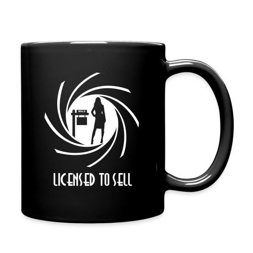 Licensed to Sell left mug - Full Color Mug