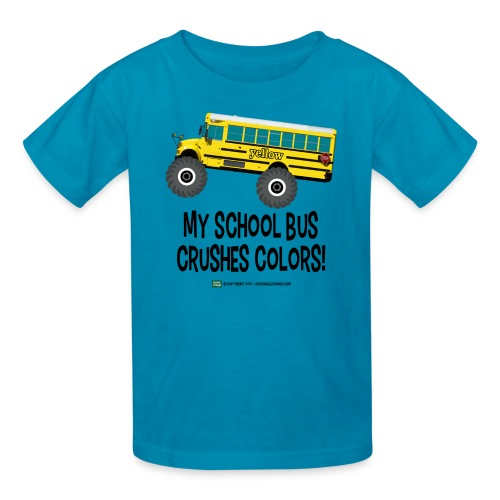 Crushes Colors - Kids' T-Shirt