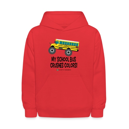 Crushes Colors - Kids' Hoodie