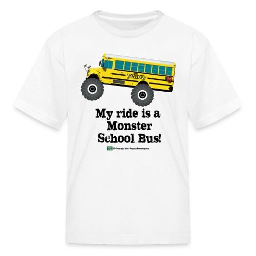 My Ride - Kids' T-Shirt