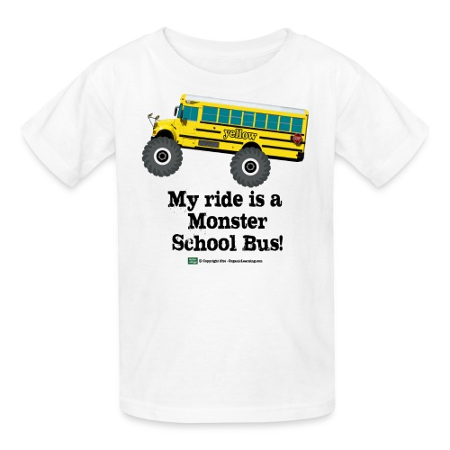 My Ride - Kids' T-Shirt